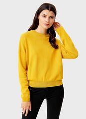 Кофта, блузка, футболка женская O'stin Укороченный джемпер LK6T54-Y4