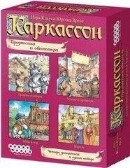 Магазин настольных игр Hobby World Настольная игра «Каркассон. Предместья и обитатели»