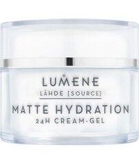 Уход за лицом LUMENE Матирующий и увлажняющий крем- гель 24 часа, Lähde Matt Hydration 24h Cream-Gel