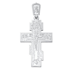 Ювелирный салон Sokolov Крест из серебра 94120091