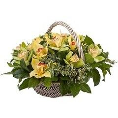 Магазин цветов Cvetok.by Цветочная корзина «Райский сад»