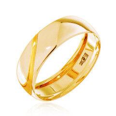 Ювелирный салон Jeweller Karat Кольцо обручальное золотое ширина 6 мм арт. 1131808