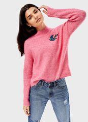 Кофта, блузка, футболка женская O'stin Джeмпер из пряжи с шерстью LK4T85-X3
