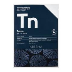 Уход за лицом Missha Маска для лица Phyto-chemical (экстракты древесного угля, черного чая и какао)