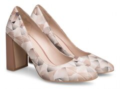 Обувь женская Ekonika Туфли EN1609-01 origami grey-18Z