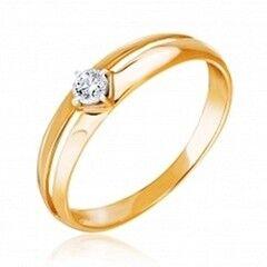 Ювелирный салон Jeweller Karat Кольцо золотое с бриллиантами арт. 3212573/9