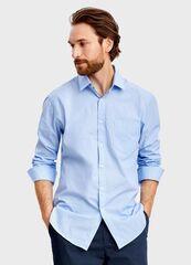 Кофта, рубашка, футболка мужская O'stin Рубашка в полоску MS4T31-61