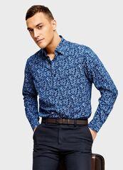 Кофта, рубашка, футболка мужская O'stin Рубашка с цветочным принтом MS4U31-66