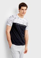 Кофта, рубашка, футболка мужская O'stin Футболка с принтом MT1T24-99