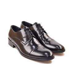 Обувь мужская HISTORIA Туфли дерби черные глянец Sh.B.71780