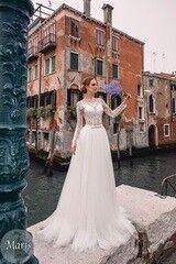 Свадебный салон Bonjour Свадебное платье «Maris» из коллекции LE DELICE 2018