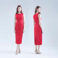 Вечернее платье UNONA Платье «Gven red»