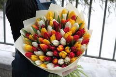 Магазин цветов Cvetok.by Букет «Тёплая весна»