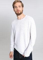 Кофта, рубашка, футболка мужская O'stin Джемпер мужской с геометрической структурой MK4V61-00