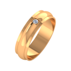 Ювелирный салон ZORKA Обручальное кольцо 155070