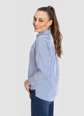 Кофта, блузка, футболка женская O'stin Хлопковая женская рубашка LS4W51-68