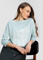 Кофта, блузка, футболка женская O'stin Джемпер из структурного полотна LT1W43-42