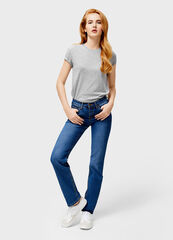 Брюки женские O'stin Базовые джинсы Straight Fit LPD102-D4
