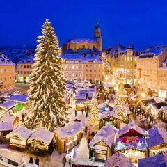 Туристическое агентство Madera Travel Экскурсионный рождественский тур «Варшава - Прага - Карловы Вары - Дрезден – Вроцлав» (5 дней)