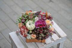 Магазин цветов Cvetok.by Композиция «Вдохновение»