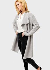Кофта, рубашка, футболка мужская O'stin Кардиган-пальто структурной вязки LK4V55-92
