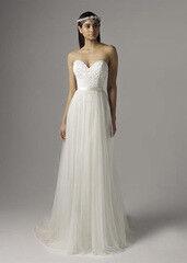 Свадебное платье напрокат А-силуэт Mia Solano Свадебное платье Chanel