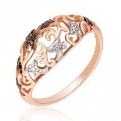 Ювелирный салон Jeweller Karat Кольцо золотое с бриллиантами арт. 1212563/1ч