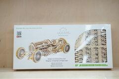 Подарок Ugears Механический 3Д пазл «Спорткар U-9 Гран-при»