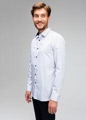 Кофта, рубашка, футболка мужская O'stin Рубашка мужская с микропринтом MS4V41-00