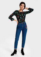 Кофта, блузка, футболка женская O'stin Футболка  с длинным рукавoм LT1S13-99
