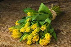 Магазин цветов Цветы на Киселева Букет из тюльпанов