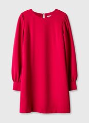 Платье женское O'stin Платье женское из крепа LR1U11-X5