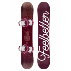 Сноубординг Bataleon Сноуборд Feelbetter Set 17.18
