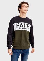 Кофта, рубашка, футболка мужская O'stin Джемпер с колорблоком MT5T3B-98