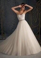 Свадебное платье напрокат А-силуэт Mori Lee Платье свадебное 5162