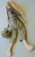Подарок Славутасць Кукла «Заяц» 3036