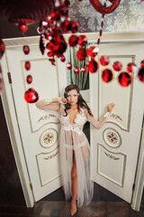 Свадебный аксессуар IZUM Будуарное платье 209