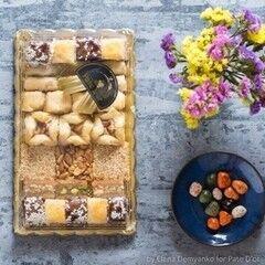 Подарок на Новый год Pate D`or Ливанские сладости ассорти «Голд», 450 гр