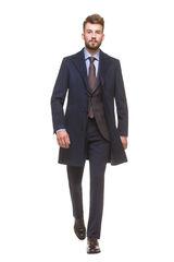 Верхняя одежда мужская HISTORIA Пальто мужское, темно синее