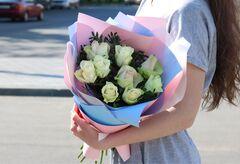 Магазин цветов VGosti.by Букет из белых роз