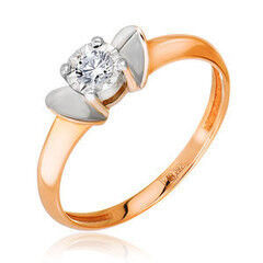 Ювелирный салон Jeweller Karat Кольцо золотое с бриллиантами арт. 3212511/93