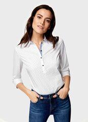 Кофта, блузка, футболка женская O'stin Рубашка с принтом LS4U51-00