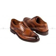 Обувь мужская Keyman Туфли мужские полуброги рыжие