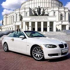 Прокат авто Прокат авто с водителем, BMW E93 белого цвета