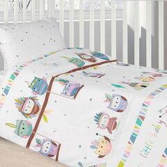 Подарок Ecotex Комплект постельного белья в детскую кроватку арт. 18