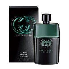 Парфюмерия Gucci Туалетная вода Guilty Black Pour Homme, 90 мл