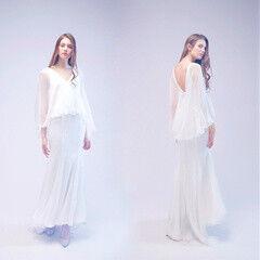 Свадебный салон UNONA Свадебное платье 2817 из коллекции JADE 2017