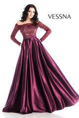 Вечернее платье Vessna Вечернее платье арт.1238 из коллекции VESSNA NEW