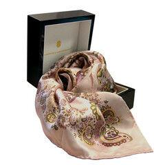 """Подарок Schopfer & Shaposhnikoff Платок S&S """"Русские забавы.Розовый"""""""