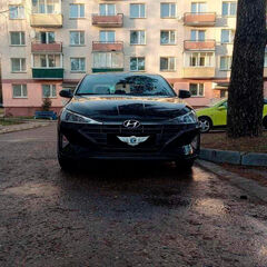 Прокат авто Прокат авто Hyundai Elantra Black